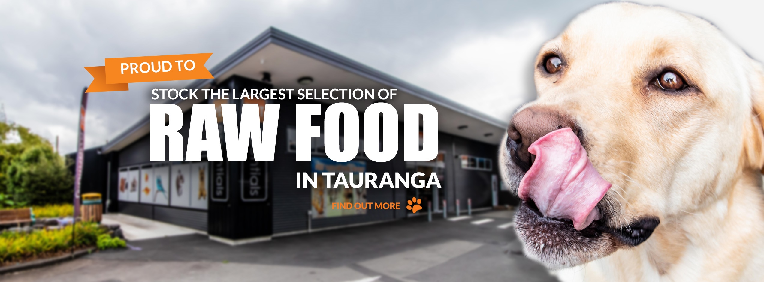Proud to stock the largest selection of Raw Food in Tauranga